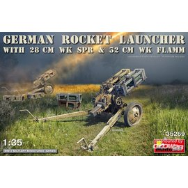 MiniArt MiniArt - German Rocket Launcher with 28cm WK Spr & 32cm WK Flamm in 1:35
