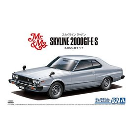Aoshima Aoshima - Nissan KHGC210 Skyline HT2000GT - ES 77 - 1:24