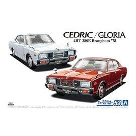 Aoshima Aoshima - Nissan P332 Cedric / Gloria 4HT280E Brougham '78 - 1:24