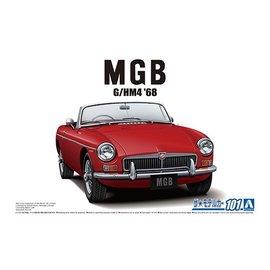 Aoshima Aoshima - BLMC G/HM4 MG-B MK-2 '68 - 1:24