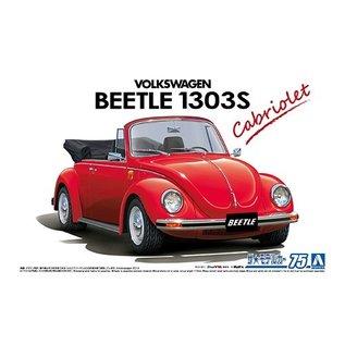 """Aoshima """"Käfer Cabrio"""" Volkswagen 15 ADK Beetle 1303S Cabriolet '75 - 1:24"""