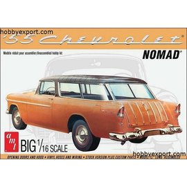 AMT AMT - '55 Chevrolet Nomad Wagon - 1:16