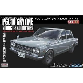 Fujimi Fujimi - PGC10 Skyline 2000 GT-R 4door 1969 - 1:24