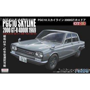 Fujimi PGC10 Skyline 2000 GT-R 4door 1969 - 1:24