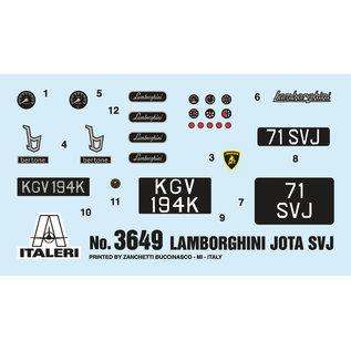Italeri Lamborghini Miura Jota SVJ - 1:24