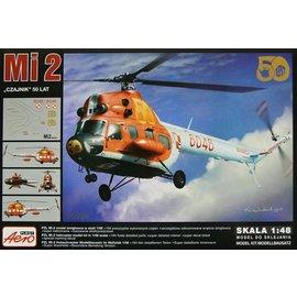 "Aeroplast Aeroplast - Mil Mi-2 ""Czajnik"" 50 Lat (50 years of service) - 1:48"