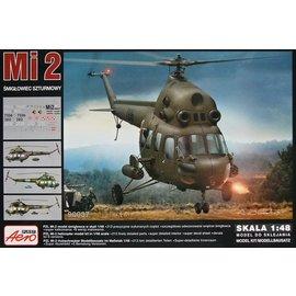 "Aeroplast Aeroplast - Mil Mi-2 ""Hoplite"" Attack helicopter (6x camo) - 1:48"
