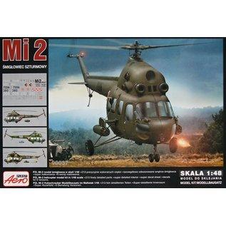 "Aeroplast Mil Mi-2 ""Hoplite"" Attack helicopter (6x camo) - 1:48"