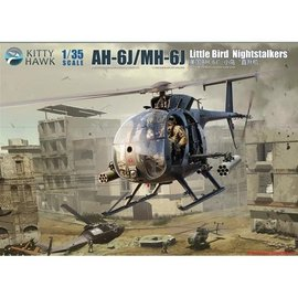 Kitty Hawk Kitty Hawk - Boeing  (Hughes) AH-6J / MH-6J Little Bird - 1:35