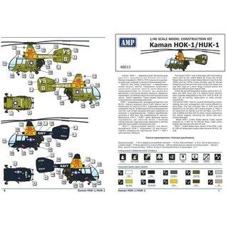 AMP Kaman HOK-1 / HUK-1 Huskie - 1:48