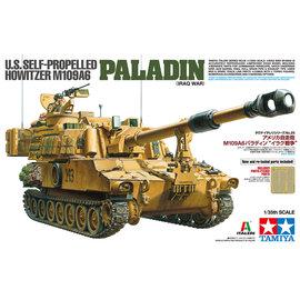 "TAMIYA Tamiya - U.S. Self propelled howitzer M109A6 ""Paladin"" (Iraq war) - 1:35"
