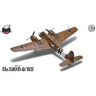 Zoukei-Mura Henschel Hs 129 B-2/RIII - Maßstab 1:32