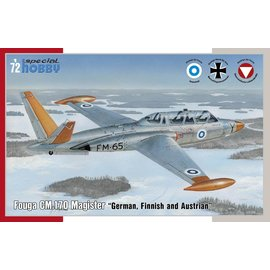 Special Hobby Special Hobby - Fouga CM.170 Magister (german, finnish, austrian) - 1:72
