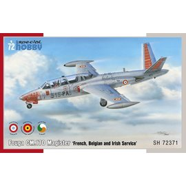 Special Hobby Special Hobby - Fouga CM.170 Magister (french, belgian, irish) - 1:72