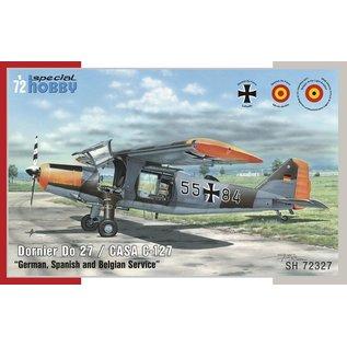 Special Hobby Dornier Do27 (german, spanish, belgian) - 1:72
