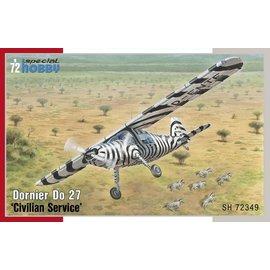 """Special Hobby Special Hobby - Dornier Do27 """"Civilian Service"""" - 1:72"""