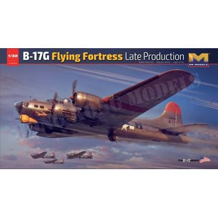 Hong Kong Models Boeing B-17G Flying Fortress (late) - 1:32