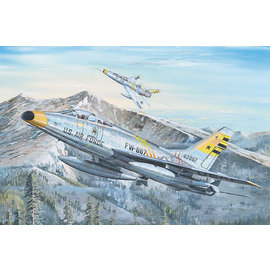Trumpeter Trumpeter - North American F-100F Super Sabre - 1:32