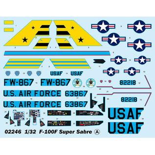 Trumpeter North American F-100F Super Sabre - 1:32