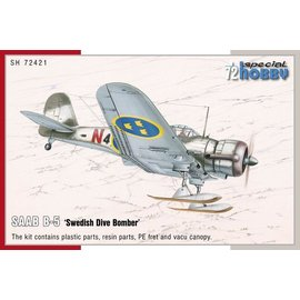 "Special Hobby Special Hobby - Saab B-5 ""Swedish Dive Bomber"" - 1:72"