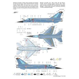 """Special Hobby Mirage F.1C/C-200 """"Armée de l'Air"""" - 1:72"""