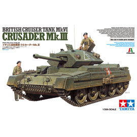 TAMIYA Tamiya - Brit. Cusader Mk.III Med. Tank -1:35