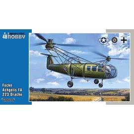 """Special Hobby Special Hobby - Focke Achgelis FA 223 Drache """"Captured"""" - 1:48"""
