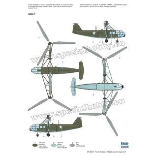 """Special Hobby Special Hobby - Focke Achgelis FA 223 Drache """"Captured"""" - 1:72"""