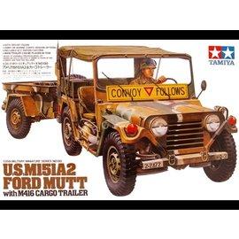 TAMIYA Tamiya - US M151A2 Ford MUTT m. Anhänger(1) - 1:35