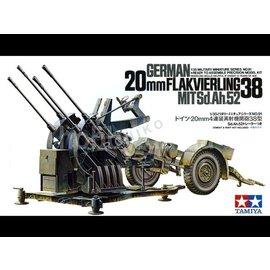 TAMIYA Tamiya - Dt. 20mm Flakvierling 38 - 1:35