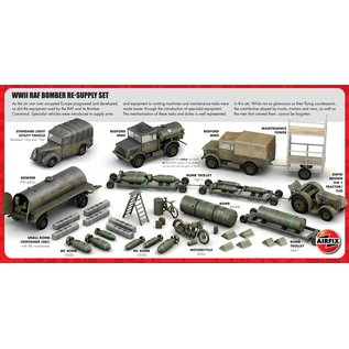 Airfix RAF Bomber re-supply set - 1:72