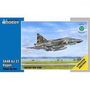 """Special Hobby Saab AJ 37 Viggen """"Attack Version"""" - 1:48"""