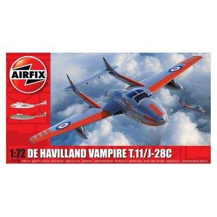 Airfix deHavilland Vampire T.11 /J-28C - 1:72