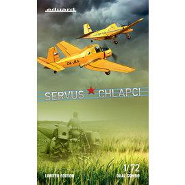 "Eduard Eduard - Z-37A Čmelák ""Servus Chlapci"" Limited Edition Dual Combo - 1:72"