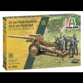 Italeri Italeri - sFH18 / 15cm schwere Feldhaubitze 18 - 1:72