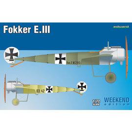 Eduard Eduard - Fokker E.III Weekend Edition - 1:72
