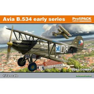 Eduard Avia B-534 early series DUAL COMBO - 1:72