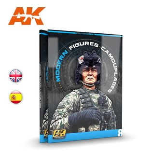 AK Interactive AK Learning 08 - Modern Figures Camouflages