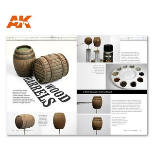 AK Interactive AK Learning 01 - Realistic Wood Effects