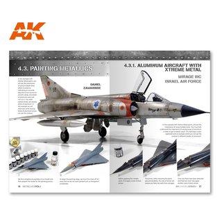 AK Interactive AK Learning 04 - Metallics Vol. 1 - Aircraft & Vehicles