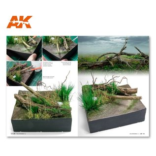 AK Interactive F.A.Q Dioramas 1.2 Extension - Water, Ice and Snow