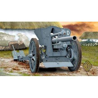 ACE Model 10,5cm leichte Feldhaubitze 18 (10,5cm leFH18) - 1:72