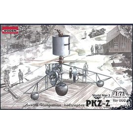 Roden Roden- PKZ-2 Austro-Hungarian Helicopter WWI - 1:72