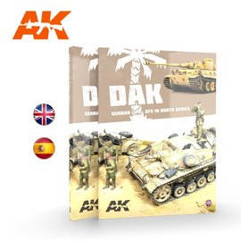 AK Interactive AK Interactive - D.A.K. German AFV in North Africa