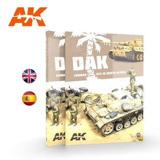 AK Interactive D.A.K. German AFV in North Africa