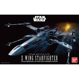 BANDAI BANDAI - X-Wing Starfighter - Star Wars - 1:72