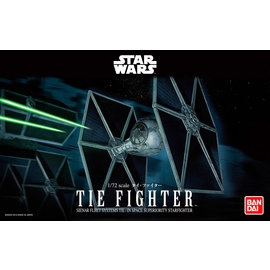 BANDAI BANDAI - Tie Fighter - Star Wars - 1:72