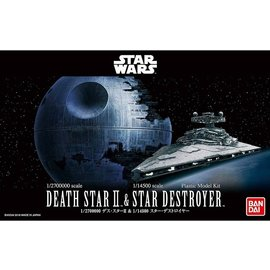 BANDAI BANDAI - Death Star II + Imperial Star Destroyer - Star Wars - 1:2.700000