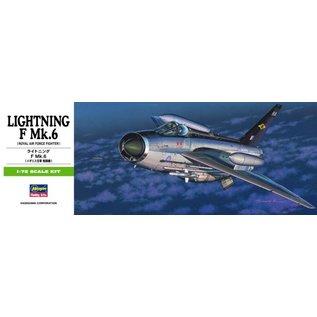 Hasegawa BAC / EE Lightning F Mk.6 - 1:72
