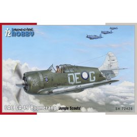 "Special Hobby Special Hobby - CAC CA-19 Boomerang ""Jungle Scouts"" - 1:72"